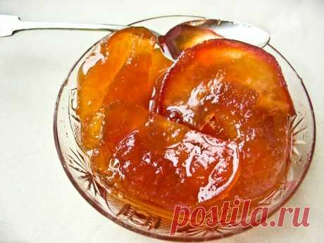 Варенье «Янтарные яблочки». Безумно вкусно и красиво! Даже жалко есть - красиво и вкусно!