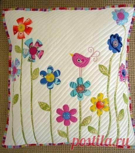Декоративные подушки. Идеи для вдохновения.