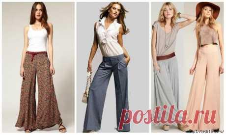 Нюансы шитья женских брюк разных моделей