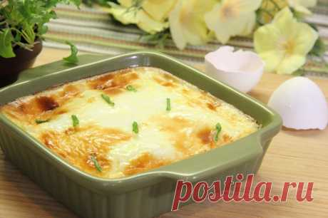 Омлет с молоком в духовке пышный рецепт с фото пошагово - 1000.menu
