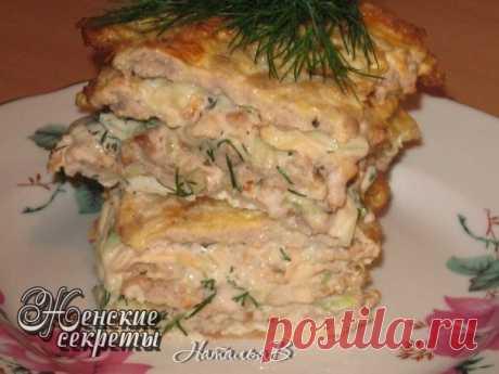 Yaichno-de carne tortik - el gusto shavermy