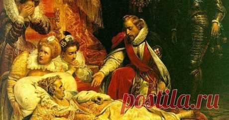 «Смерть Елизаветы I, королевы английской» (1828) Поль Деларош