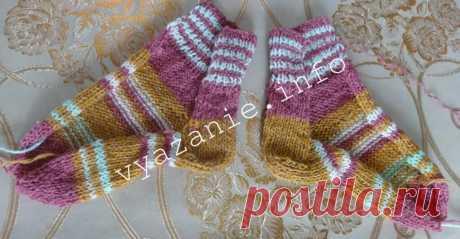 Носки, связанные на 2 спицах. Несколько способов. | Vyazanie.info | Яндекс Дзен
