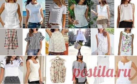 Подборка из 40 моделей простых, но освежающих и модных летних кофточек и блузок в разных стилях! | ДОМ ЯРКИХ ИДЕЙ | Яндекс Дзен