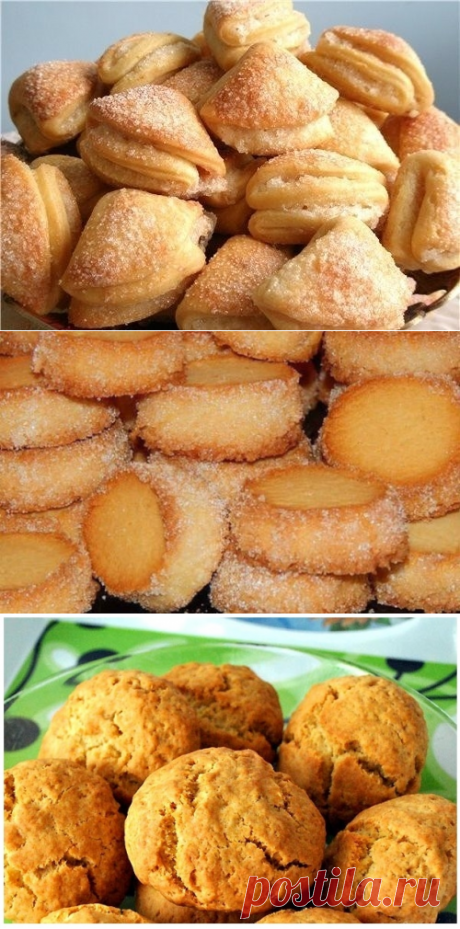 10 recipes of the most tasty cookies which prepare in 15 minutes!