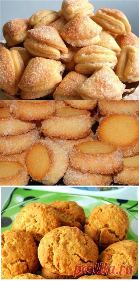 10 рецептов вкуснейшего печенья, которое готовится за 15 минут!