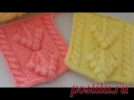 New knitting design/pattern #105 for cardigan, sweater, jacket, frock ||in hindi||