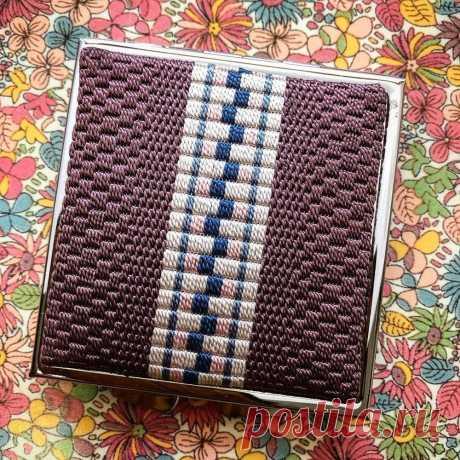 Родзаси - японская вышивка