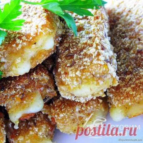 """Сырные """"палочки"""" с тмином и паприкой - Действительно быстрая, простая и  очень вкусная закуска, обязательно попробуйте!"""