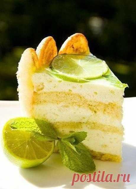 Mojito cake Charlotte \/ Sports woman!