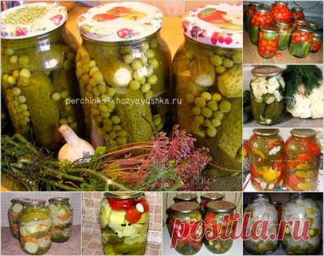 Маринованные огурцы на зиму с овощами - новые рецепты для гурманов