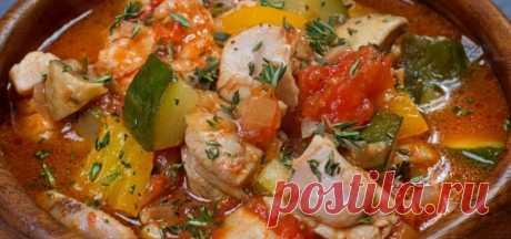 Диетический ужин - курица с овощами! - Полезные советы красоты
