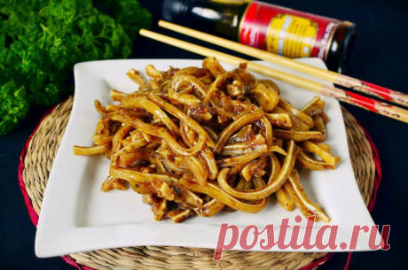 Свиные уши по-корейски - очень вкусный рецепт Приятного аппетита!