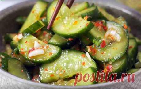Кимчи из огурцов: неповторимый вкус корейской кухни!