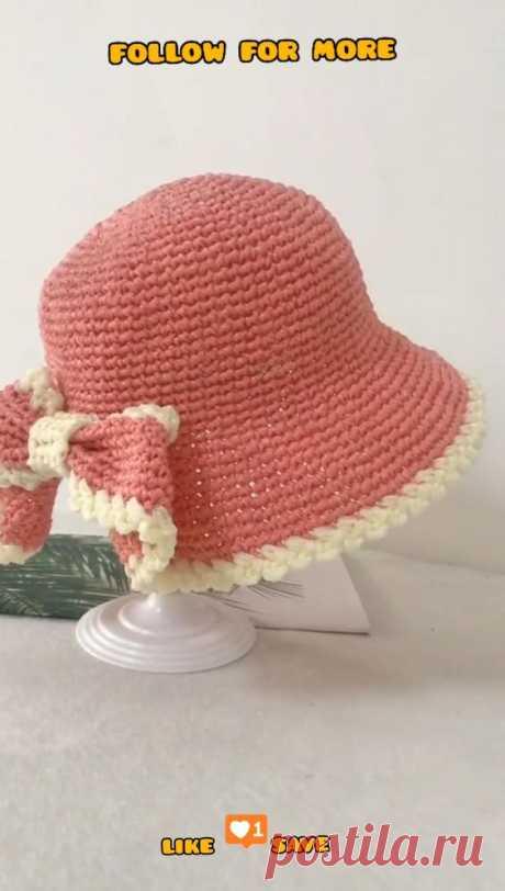 Crochet Summer Hat - Crochet Patterns for Beginners - Easy Crochet Project