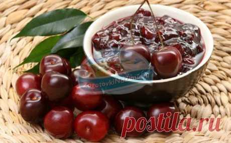 варенье из вишни - пятиминутка. Популярные рецепты с фото
