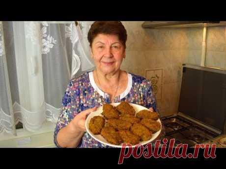 ГРЕЧАНИКИ - постные КОТЛЕТЫ ИЗ ГРЕЧКИ без яиц  Мамины рецепты