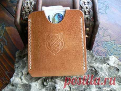 Thin Wallet Celtic - Simple Cards Wallet - Front Pocket Wallet -Woman' – GORIANI