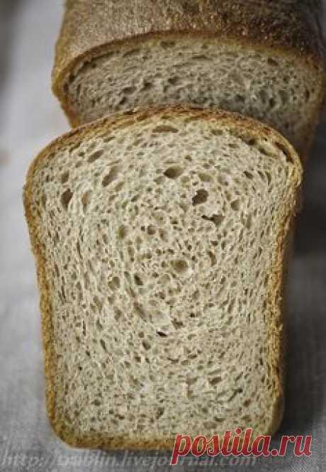 Пшенично-ржаной хлеб на закваске. Авторский рецепт