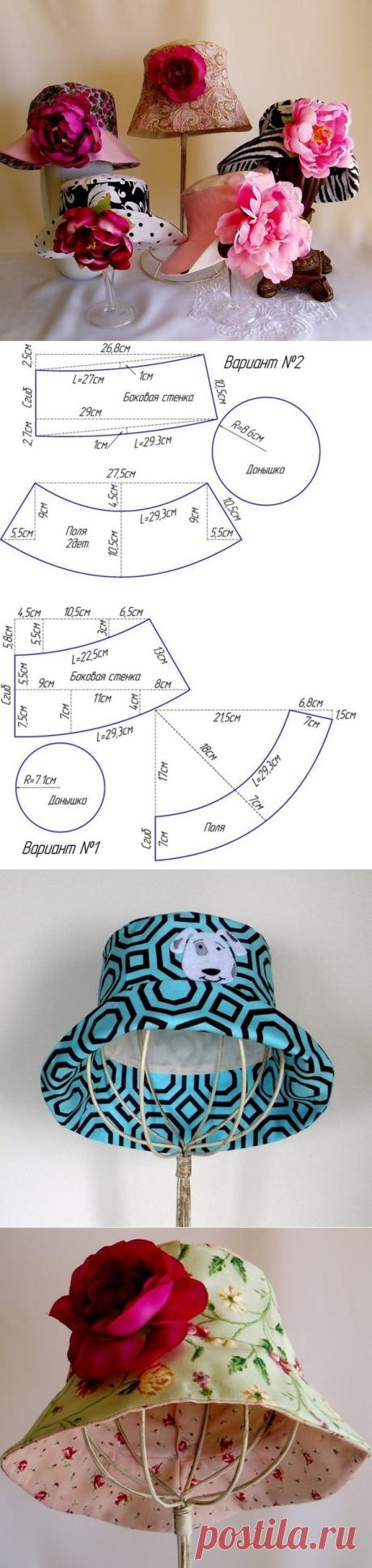Шьём шляпки / Необычные поделки