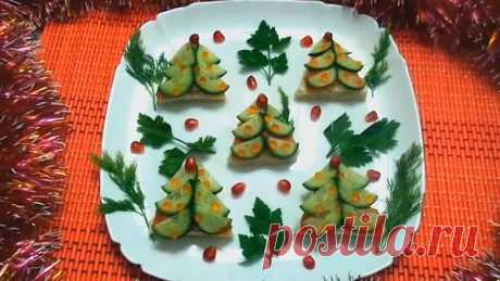 5 Вкусных закусок на НОВЫЙ ГОД & Праздничные рецепты