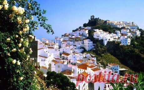 Белоснежный Касарес, признанный достоянием человечества за свою гармоничную красоту, Малага, Испания