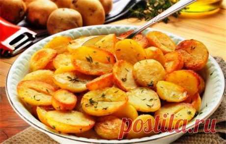 Жареная картошка в мультиварке: хрустящая, ароматная | Краше Всех