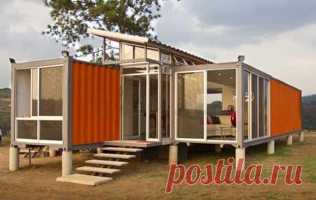Строительство домов из контейнеров — Наши дома