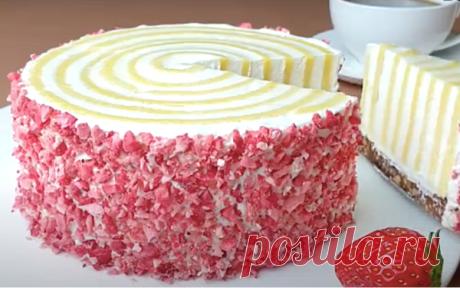 Эксперимент на вашей кухне: Футуристичный ванильный торт без муки, подсмотренный на кулинарном конкурсе | ChocoYamma | Яндекс Дзен