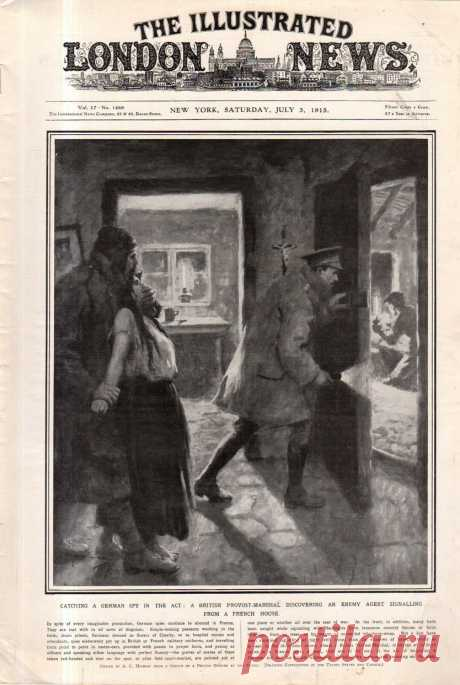 1915.07.03 - The Illustrated London News (New York) | Sovetika.ru - обложки старых журналов