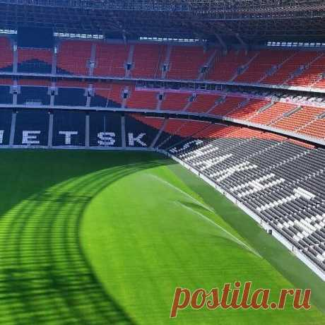 Photo by РСК Олимпийский on June 24, 2021. May be an image of stadium.