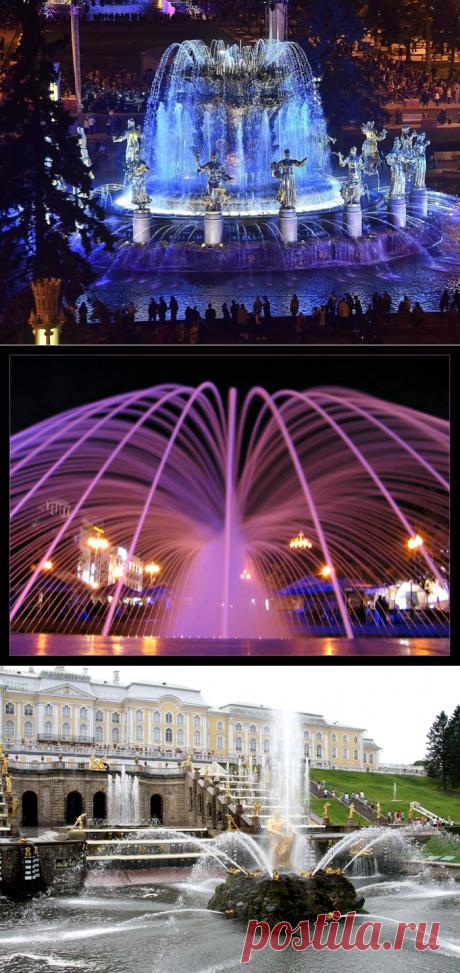 Уникальные фонтаны мира