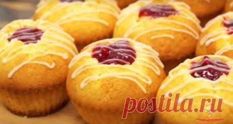 Вкусные пышные кексики - Лучший сайт кулинарии
