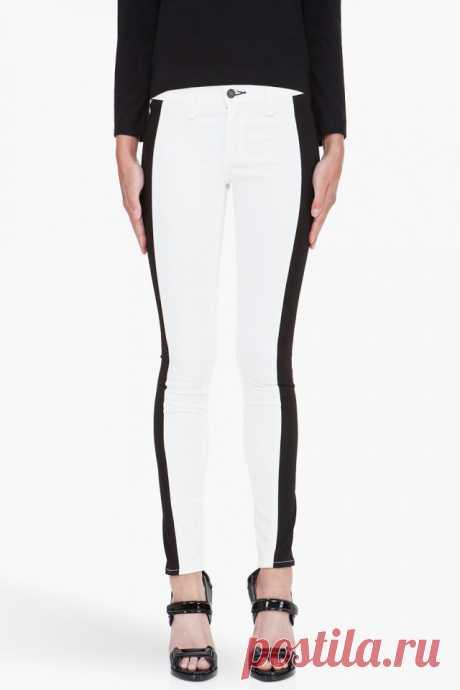 Джинсы с боковыми вставками Rag & Bone / Джинсы / Модный сайт о стильной переделке одежды и интерьера