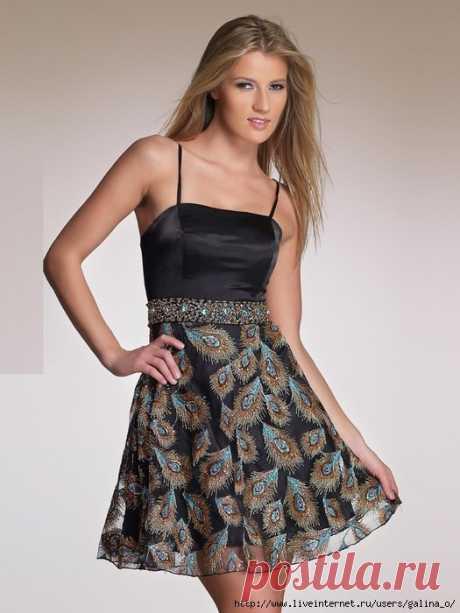 Выкройка платья на бретельках. Размер 36-52 (Шитье и крой) – Журнал Вдохновение Рукодельницы