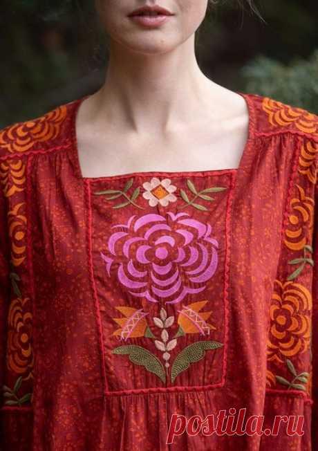 #одежда_стиль_этно Gudrun Sjödén