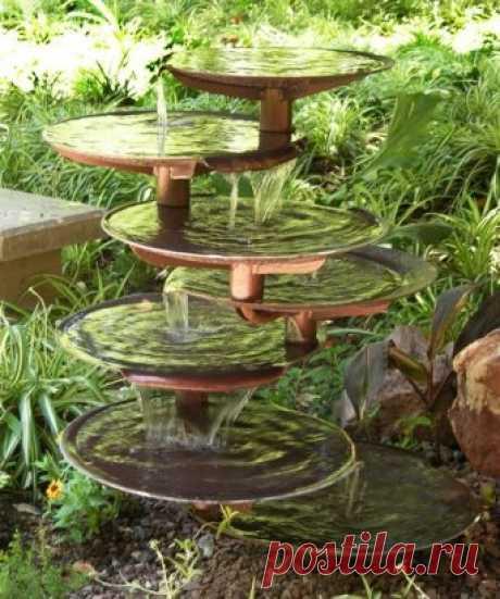 Декоративный фонтан.