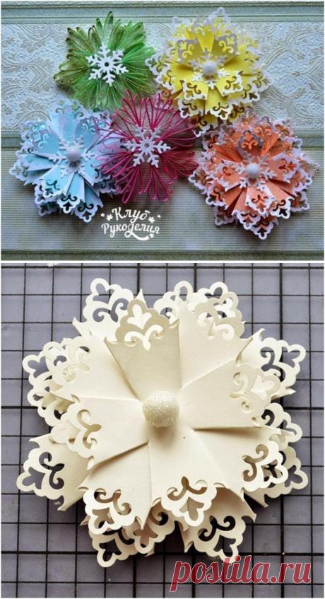 Snowflakes suspension brackets :) - Way to true