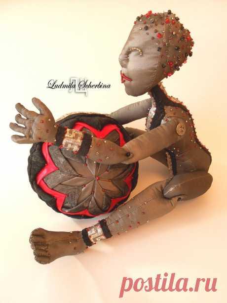 Выкройка текстильной шарнирной куклы :: Текстильные куклы и другие рукоделки Людмилы Щербины