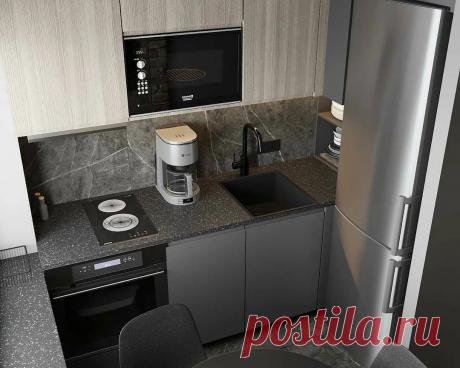 Лофт на 5 квадратных метрах кухни тоже может быть элегантным