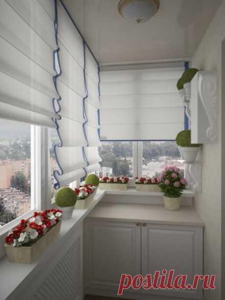 Современные идеи дизайна балкона - подбор фото