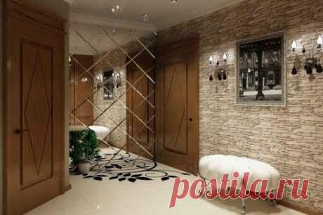 Чем отделать стены в прихожей квартиры или частного дома?