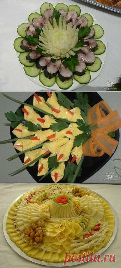 Декорирование блюд