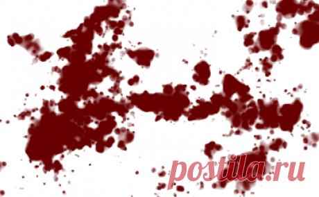 Создание брызг крови - Уроки по рисованию GIMP (лёгкие) - Каталог уроков GIMP - Уроки для GIMP'а