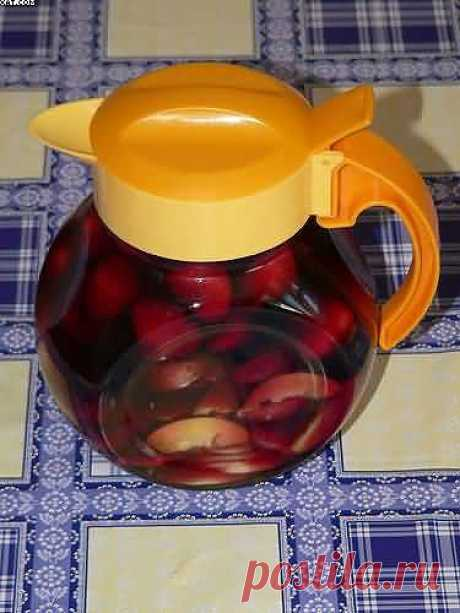 Слабоалкогольный компот - пошаговый рецепт с фото