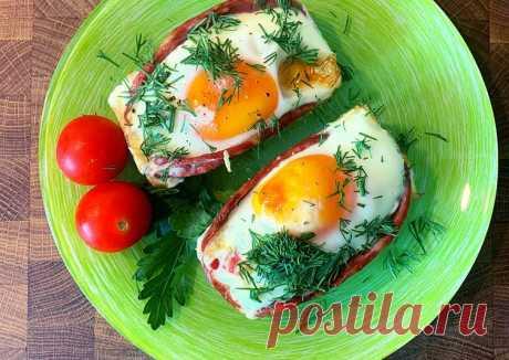 (15) Яичница в духовке - пошаговый рецепт с фото. Автор рецепта Elena . - Cookpad