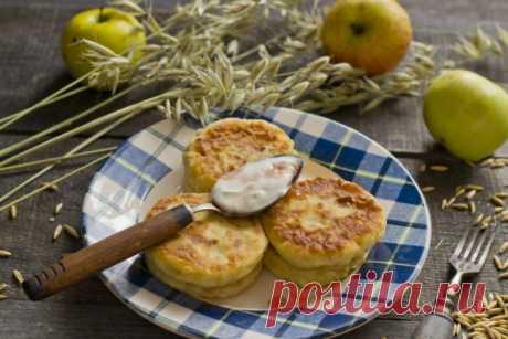 Диетические сырники с яблоками. Пошаговый рецепт с фото — Ботаничка.ru