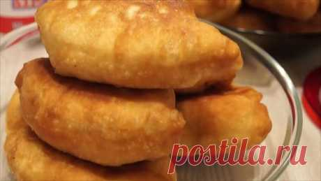 Potato pies. Unusual and very fast dough!