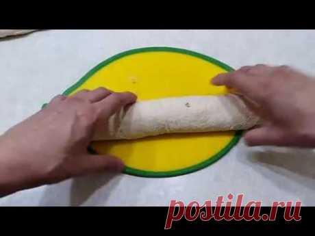 Вкусные рулетики из лаваша. - YouTube