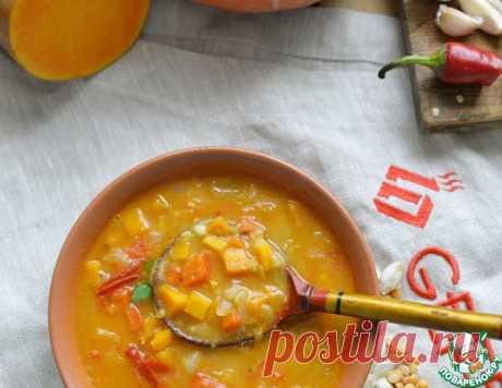 Острый гороховый суп с тыквой – кулинарный рецепт